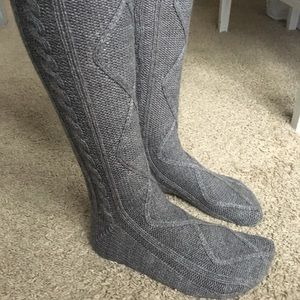 880696ba46313 Grace and Lace Accessories - Grace and Lace Thigh High Sweater Socks